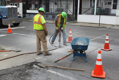 PennDOT SR309 Construction, Tamaqua (6-23-2011)