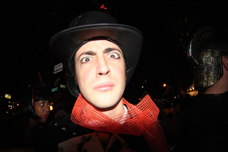 Danielle took this one. Halloween in New York City.