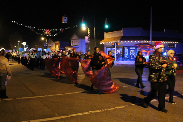 Marine City Santa Lighted Parade