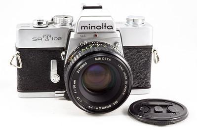 Minolta SRT-102, 1973