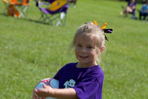 Anna's First Soccer Match