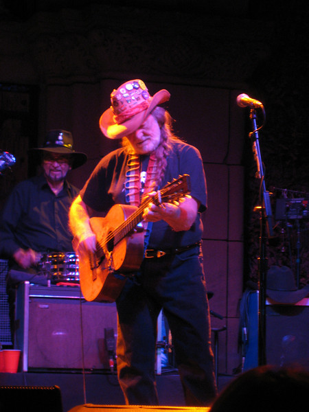 Willie Nelson & Family @ Saratoga Mountain Winery - Thursday September 4th, 2008