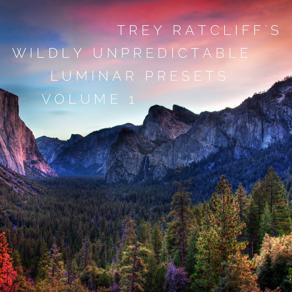 Trey's Luminar Presets - VOL 1