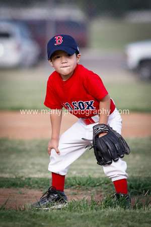 Redsox 3 - 4 yr old T-ball