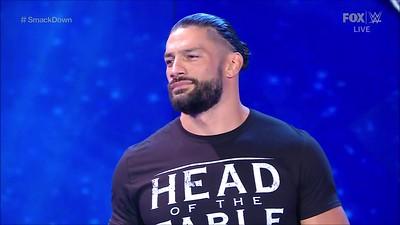 Roman Reigns - Screencaps / Smackdown Aug 13, 2021