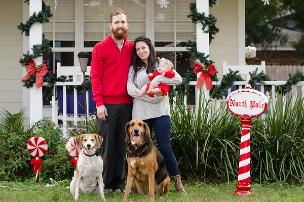 Jon and Heather Christmas Pics 2018