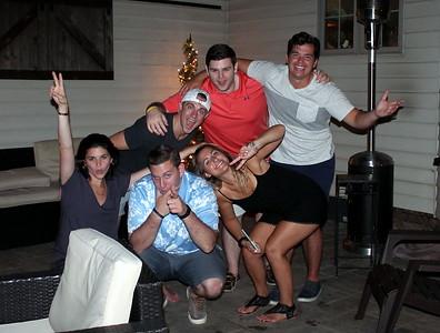 Casey McHenry impromptu engagement get-together summer 2017