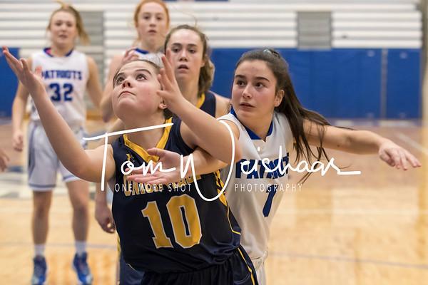 Great Valley vs Unionville Girls JV & Varsity Basketball