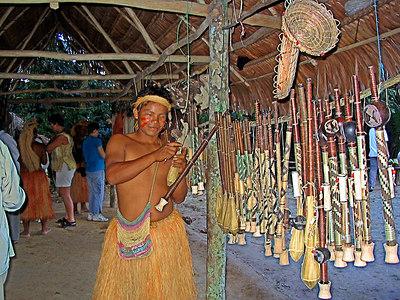 Yagua Amazon village and Birdwatching