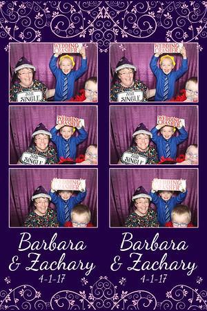 Barbara and Zachary's Wedding 4-1-17