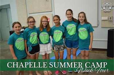 Summer Camp Week Four