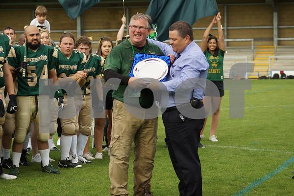 Bury Saints (American Football-2014,15