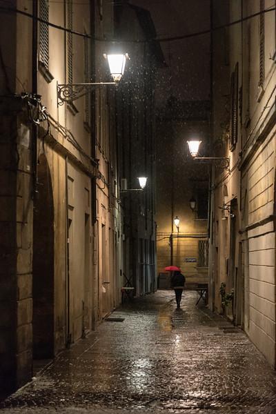 Vicolo Casalecchi - Reggio Emilia, Italy - January 30, 2019