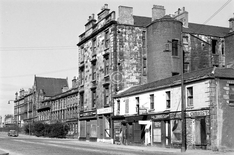 Cumberland St, west of Abbotsford Lane.    April 1973