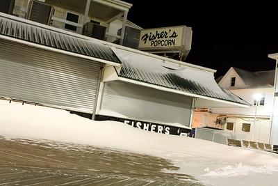 Ocean City Maryland Winter Snowstorm