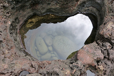 Olivine Pool for Standing In December 2013, Cynthia Meyer, Maui, Hawaii