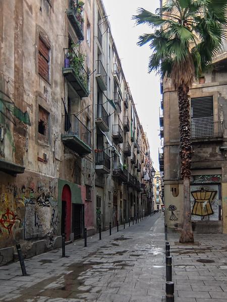 Backstreet off La Rambla