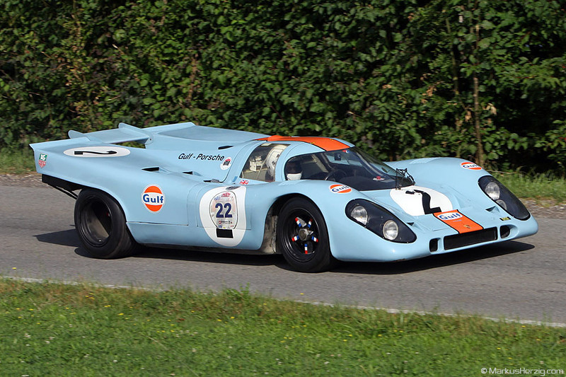 Porsche 917 - Gulf Racing @ Bergprüfung Altbüron Switzerland 21Aug11