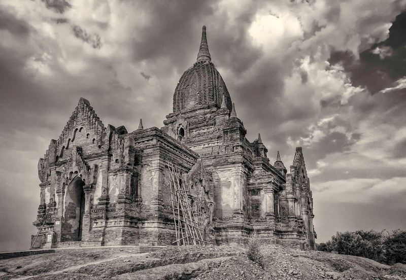 Old Temple in Bagan.