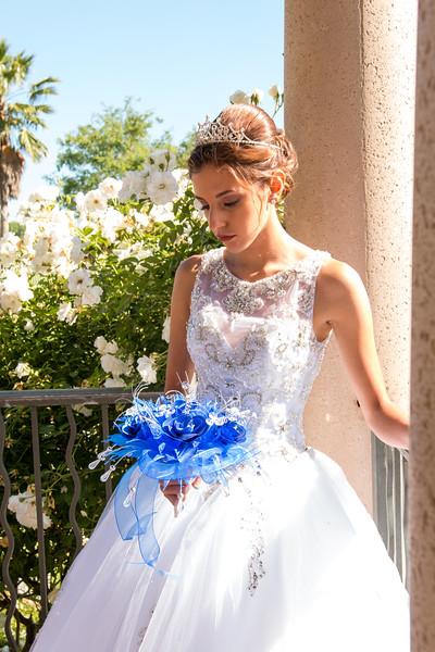 5-15-17 Pre-Quince | Maritza in Quince Dress