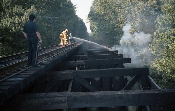 Trestle Fire 1992