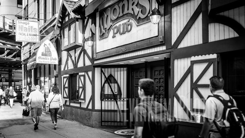 Monks Pub on Lake Street