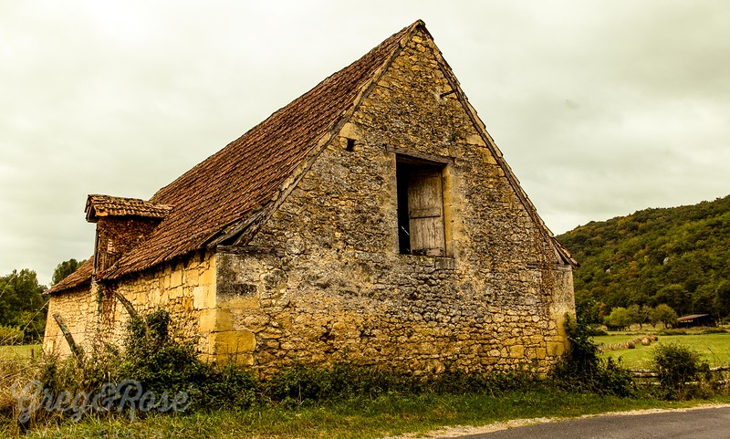 Beautiful old stone formed barn