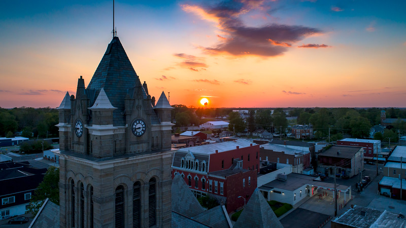 Courthouse Sunset