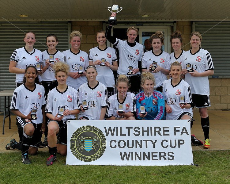 SWINDON SPITFIRES V SWINDON TOWN LADIES WOMENS CUP FINAL 26th April 2015