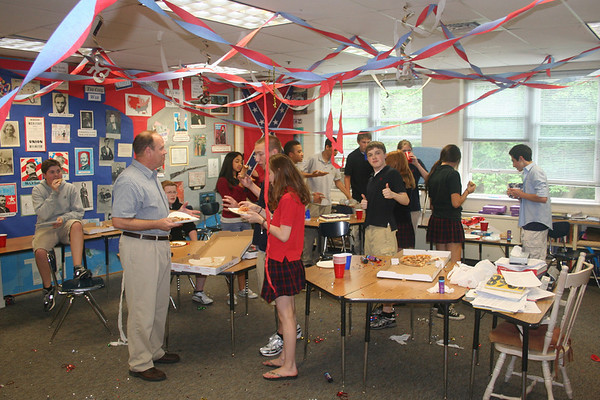 Surprise Party for Mr. Stephens
