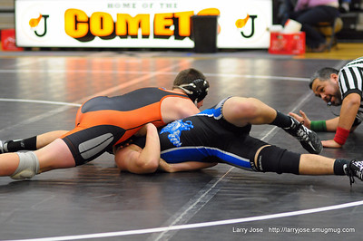 Jonesville vs Pittsford Wrestling Dual