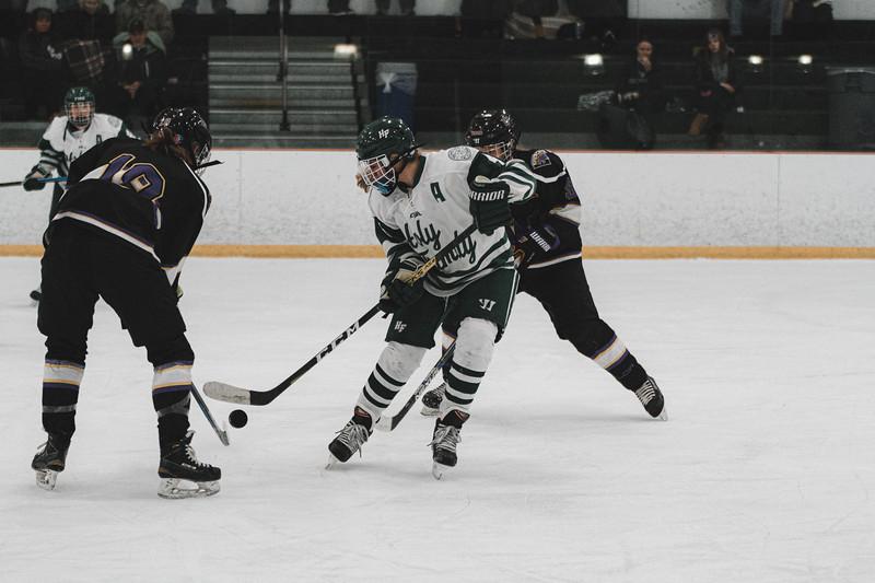 Holy Family Varsity Girls Hockey vs. Waconia, 1/9/20: Cecily Cronin '20 (4)