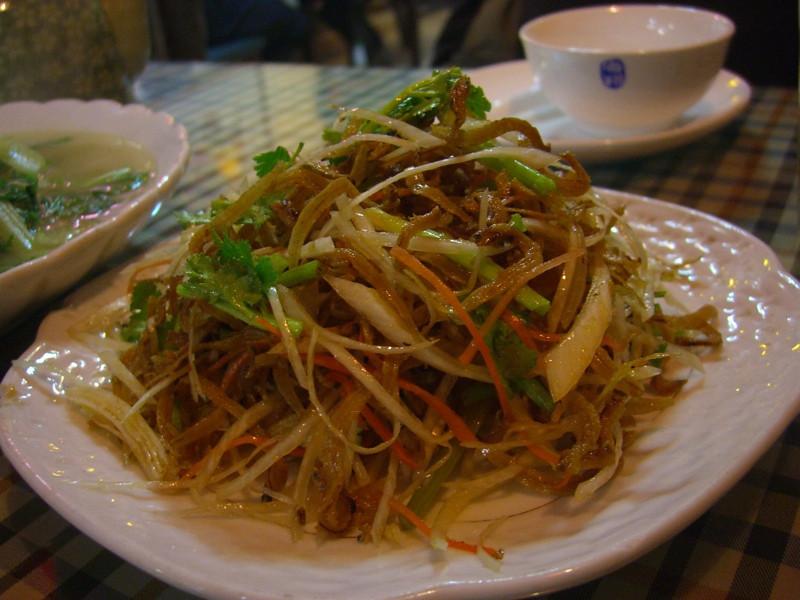 Chinese Salted Fish Dish - Qingdao, China
