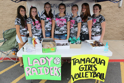 Bake Sale, Tamaqua Girls Volleyball, WalMart, Hometown (8-26-2011)