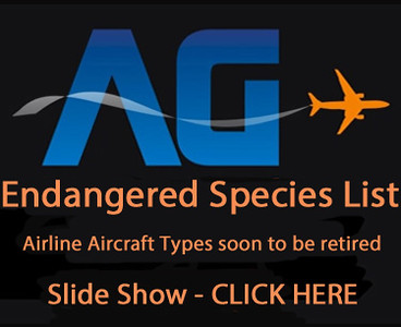 Airline Aircraft Types soon to be retired