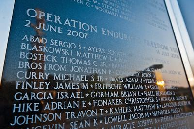 The 173rd Airborne Brigade Combat Team Memorial