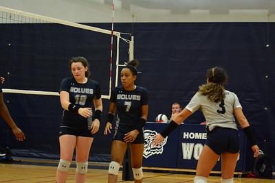OE Freshman Girls Volleyball Vs Plainfield East 2019