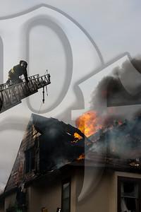 2 Alarm Fire - Rochester, NY 1/31/12