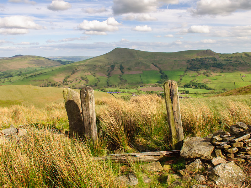 Vale of Edale in the Peak District