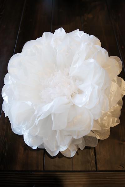 June 16, 2016 - Silver Summit Paper Flowers