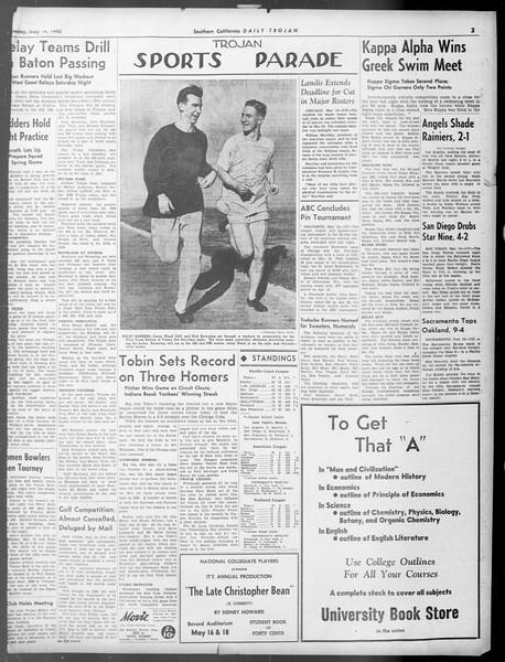 Daily Trojan, Vol. 33, No. 142, May 14, 1942