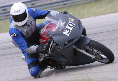 """<a href=""""http://www.ridesmart.info"""">RideSmart</a> Track Day, College Station, TX, May 29, 2006.  Funner and funner!"""