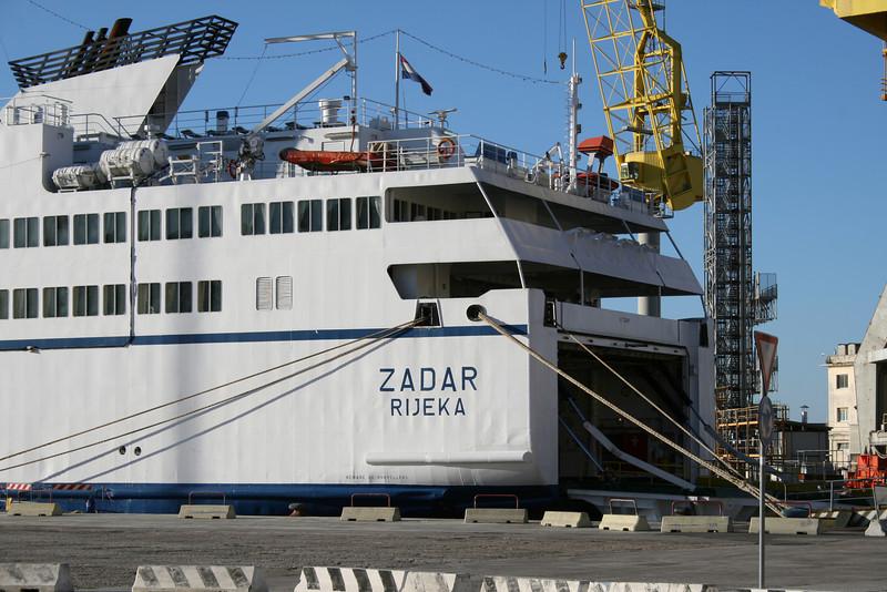 2010 - F/B ZADAR in Ancona.