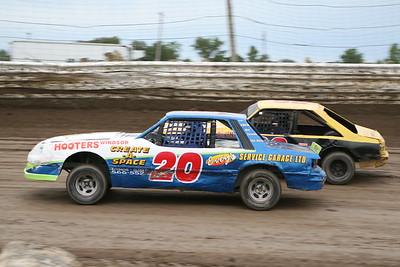 South Buxton Raceway, Merlin, ON, August 18, 2007