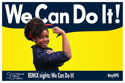 National Portrait Gallery REMIX nights: We Can Do It!