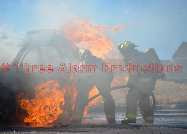 Vehicle Fire-Falcon Fire Department