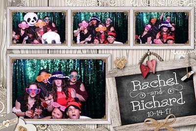 Rachel and Richard's Wedding 10-14-17
