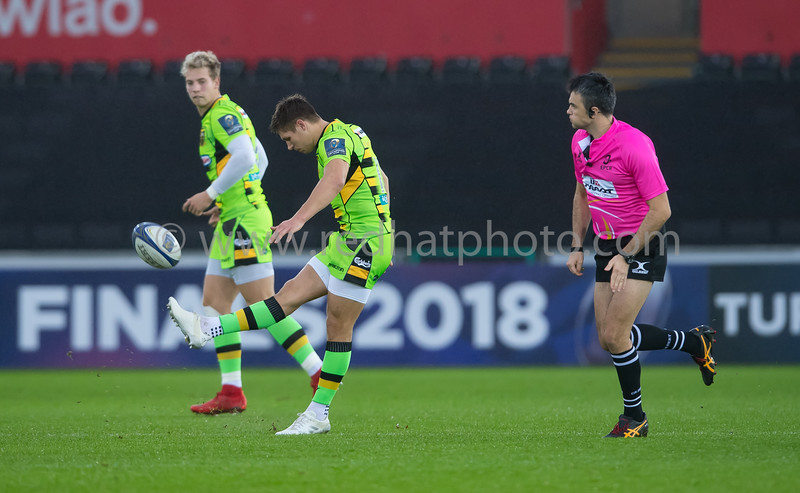Ospreys vs Northampton Saints, European Rugby Champions Cup, Liberty Stadium, 17 December 2017