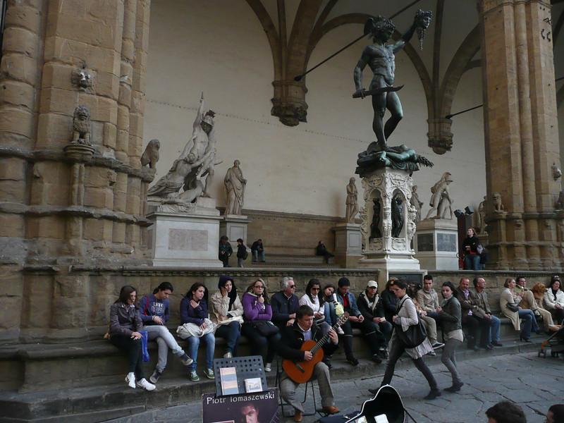 Loggia dei Lanzi Statues, Florence, Italy f0857707,