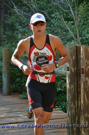 Lake Tahoe Triathlon 2014 Olympic and Half Run